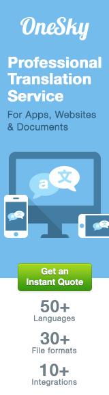 OneSky Online Translation Service